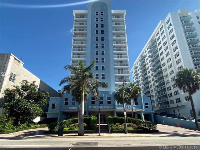6969 Collins Ave #1212, Miami Beach, FL 33141 (MLS #A10773296) :: GK Realty Group LLC