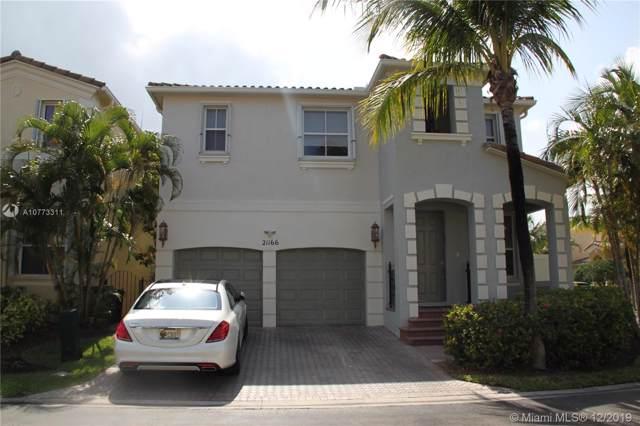 21166 NE 33rd Ave, Aventura, FL 33180 (MLS #A10773311) :: United Realty Group