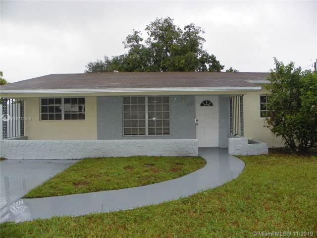 6325 Plunkett St, Hollywood, FL 33023 (MLS #A10773619) :: Prestige Realty Group