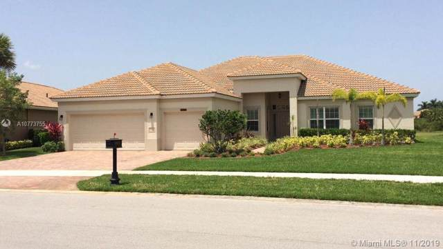 11913 SW Aventino Dr, Port Saint Lucie, FL 34987 (MLS #A10773755) :: Green Realty Properties