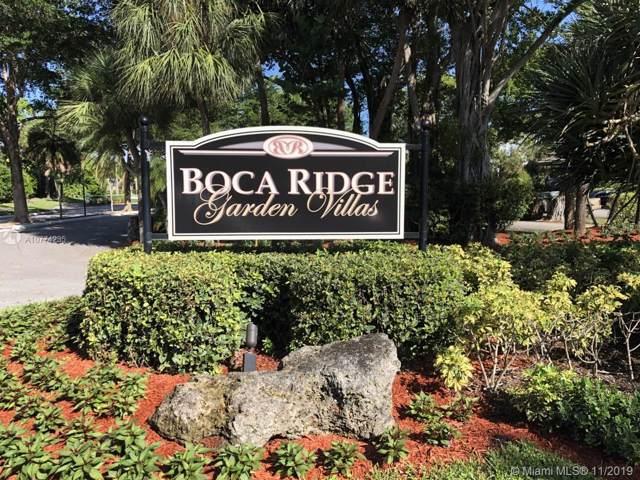 9298 Sable Ridge Cir D, Boca Raton, FL 33428 (MLS #A10774235) :: United Realty Group