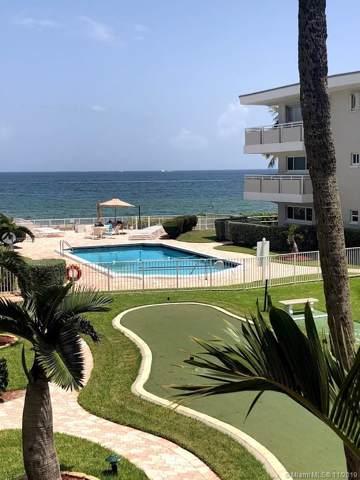 1199 E Hillsboro Mile #211, Hillsboro Beach, FL 33062 (MLS #A10774336) :: RE/MAX