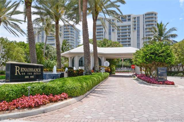6051 N Ocean Dr #603, Hollywood, FL 33019 (MLS #A10774350) :: The Paiz Group