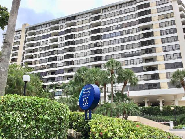 500 Three Islands Blvd #605, Hallandale, FL 33009 (MLS #A10774366) :: United Realty Group