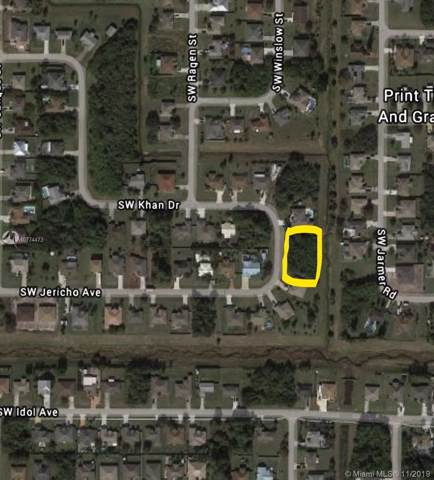 1185 SW Khan Dr, Port Saint Lucie, FL 34953 (MLS #A10774473) :: The Adrian Foley Group