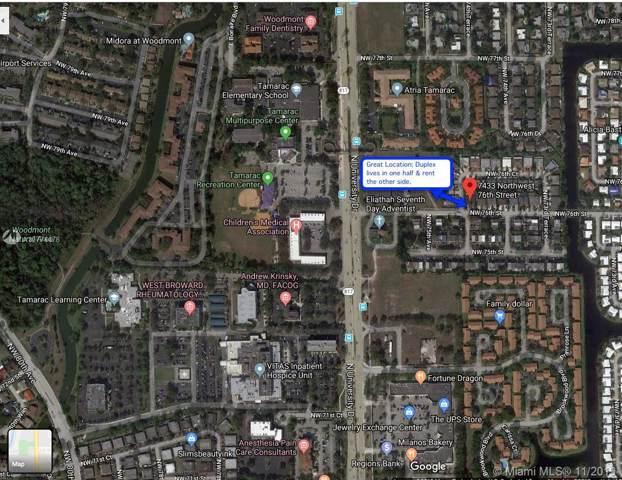 7431 NW 76th St, Tamarac, FL 33321 (MLS #A10774478) :: The Adrian Foley Group