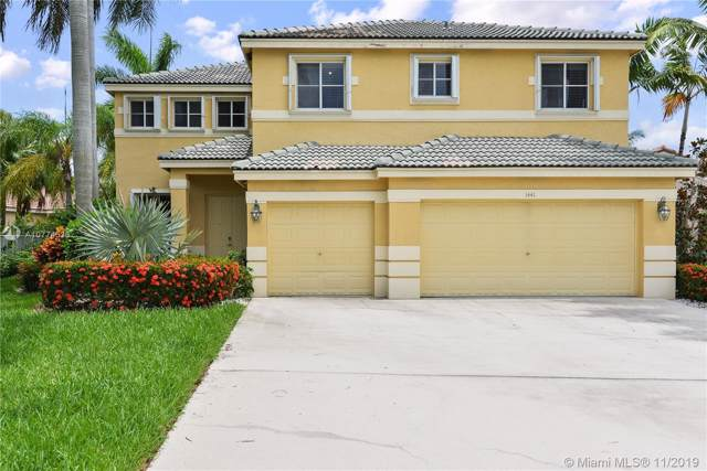 1441 Thrush Ct, Weston, FL 33327 (MLS #A10774536) :: Green Realty Properties