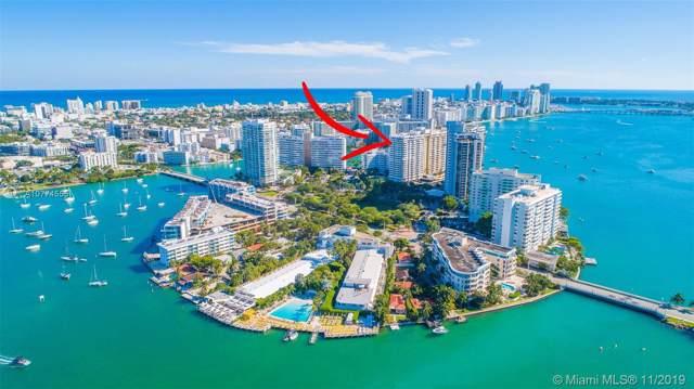 11 Island Ave #906, Miami Beach, FL 33139 (MLS #A10774555) :: The Adrian Foley Group