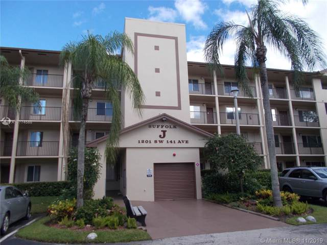 1201 SW 141st Ave 109J, Pembroke Pines, FL 33027 (#A10774588) :: Real Estate Authority