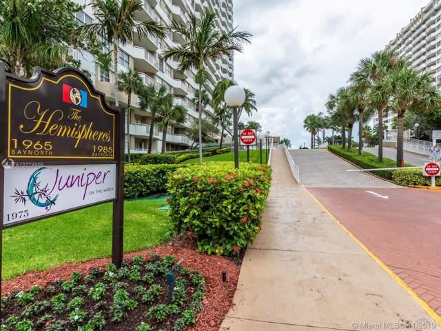 1985 S Ocean Dr 17L, Hallandale, FL 33009 (MLS #A10774909) :: The Riley Smith Group