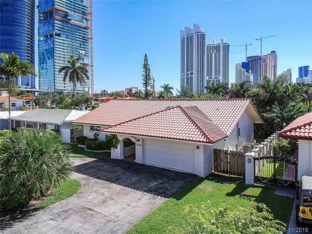 220 187th St, Sunny Isles Beach, FL 33160 (MLS #A10776129) :: Berkshire Hathaway HomeServices EWM Realty