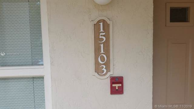 15103 Glenmoor Dr #15103, West Palm Beach, FL 33409 (#A10776513) :: Real Estate Authority