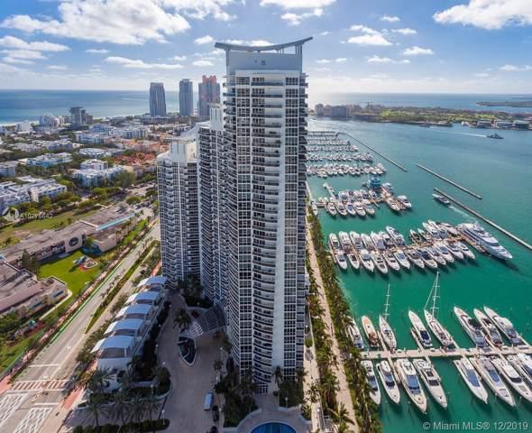 400 Alton Rd #3601, Miami Beach, FL 33139 (MLS #A10776642) :: Castelli Real Estate Services