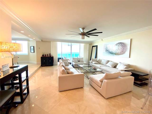 20201 E Country Club Dr #2709, Aventura, FL 33180 (MLS #A10776718) :: The Adrian Foley Group