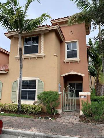 14365 SW 9th Ct Th407, Pembroke Pines, FL 33027 (#A10776860) :: Real Estate Authority