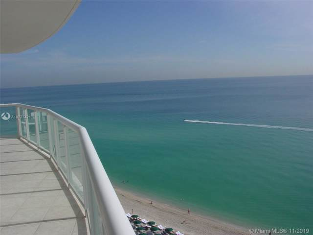 18671 Collins Ave #1401, Sunny Isles Beach, FL 33160 (MLS #A10777421) :: The Riley Smith Group