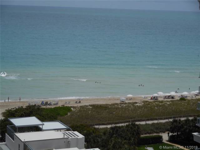 9511 Collins Ave #1209, Surfside, FL 33154 (MLS #A10778196) :: The Pearl Realty Group
