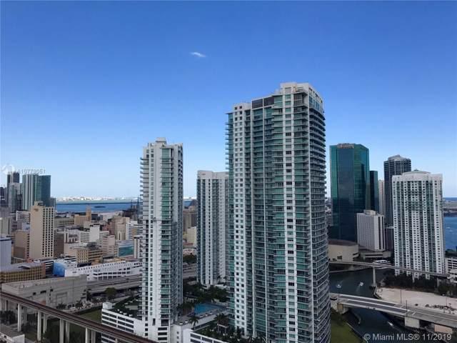 185 SW 7th St #3503, Miami, FL 33130 (MLS #A10779051) :: Berkshire Hathaway HomeServices EWM Realty