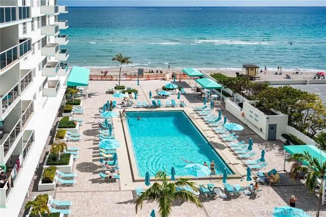 3725 S Ocean Dr #712, Hollywood, FL 33019 (MLS #A10779420) :: Patty Accorto Team