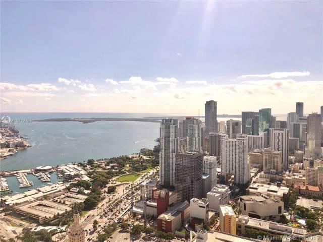 851 NE 1 Ave #3811, Miami, FL 33132 (MLS #A10779465) :: ONE Sotheby's International Realty