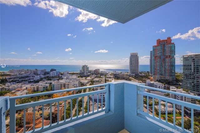 90 Alton Rd #2501, Miami Beach, FL 33139 (MLS #A10779548) :: The Paiz Group