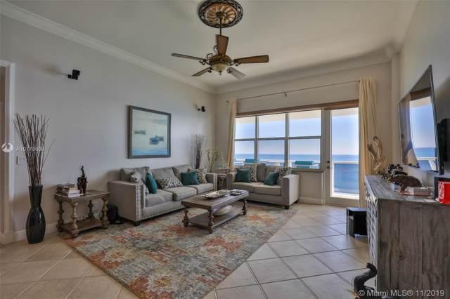 3725 S Ocean Ph1, Hollywood, FL 33019 (MLS #A10779606) :: Berkshire Hathaway HomeServices EWM Realty