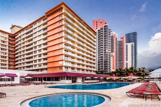 19201 Collins Ave #818, Sunny Isles Beach, FL 33160 (MLS #A10779701) :: Grove Properties