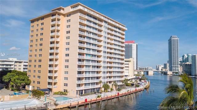 121 Golden Isles Dr #307, Hallandale Beach, FL 33009 (MLS #A10780151) :: Berkshire Hathaway HomeServices EWM Realty