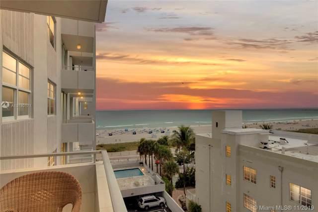 465 Ocean Dr #710, Miami Beach, FL 33139 (MLS #A10780171) :: The Paiz Group