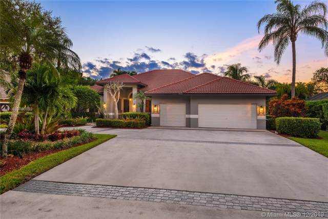1295 Manor Ct, Weston, FL 33326 (MLS #A10780982) :: The Teri Arbogast Team at Keller Williams Partners SW
