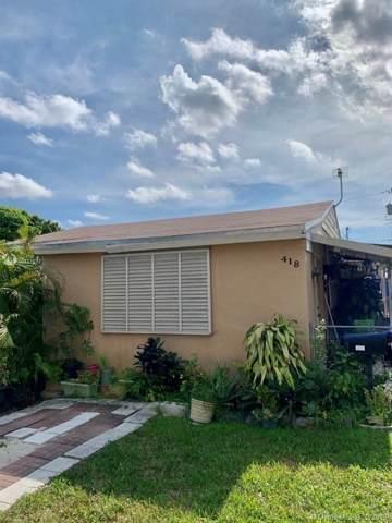 418 SE 1st St, Hialeah, FL 33010 (MLS #A10781038) :: ONE | Sotheby's International Realty