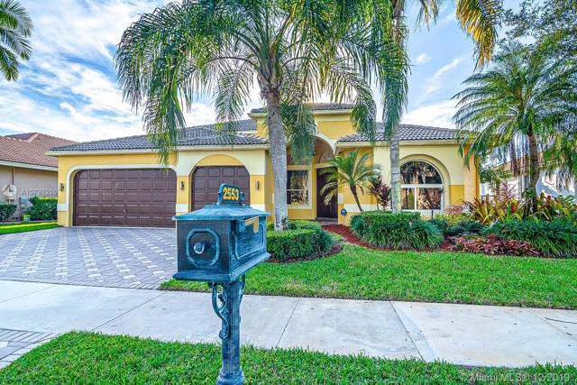 2553 Jardin Ln, Weston, FL 33327 (MLS #A10781200) :: The Teri Arbogast Team at Keller Williams Partners SW