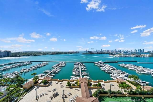 90 Alton Rd #1606, Miami Beach, FL 33139 (MLS #A10781210) :: The Paiz Group