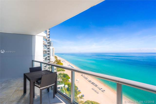 17001 Collins Ave #1803, Sunny Isles Beach, FL 33160 (MLS #A10781211) :: United Realty Group