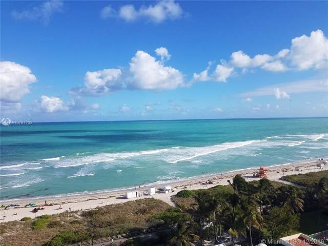2457 Collins Ave #1403, Miami Beach, FL 33140 (MLS #A10781732) :: The Teri Arbogast Team at Keller Williams Partners SW