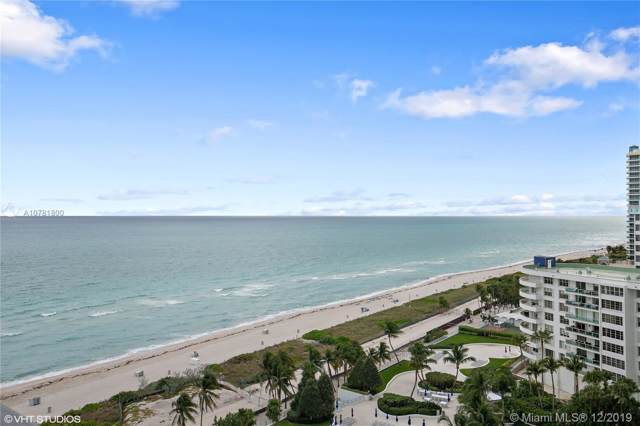 5225 Collins Ave Ph3, Miami Beach, FL 33140 (MLS #A10781800) :: The Teri Arbogast Team at Keller Williams Partners SW
