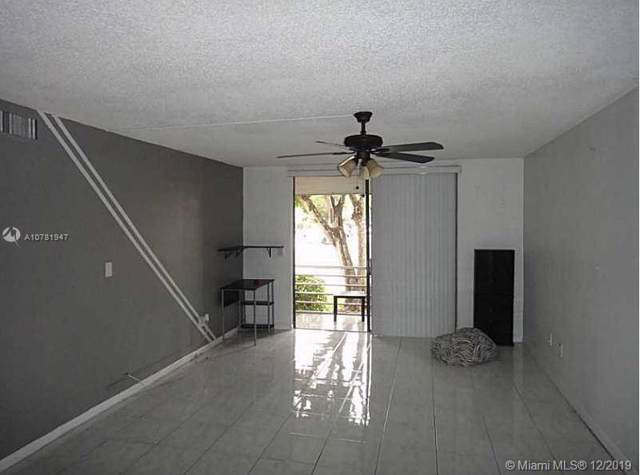 2860 Somerset Dr 110K, Lauderdale Lakes, FL 33311 (MLS #A10781947) :: Berkshire Hathaway HomeServices EWM Realty
