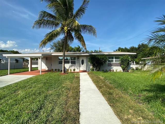 6481 Lincoln St, Hollywood, FL 33024 (MLS #A10782364) :: The Teri Arbogast Team at Keller Williams Partners SW