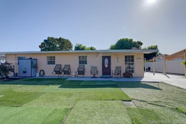4792 NW 195th Ter, Miami Gardens, FL 33055 (MLS #A10782466) :: Berkshire Hathaway HomeServices EWM Realty