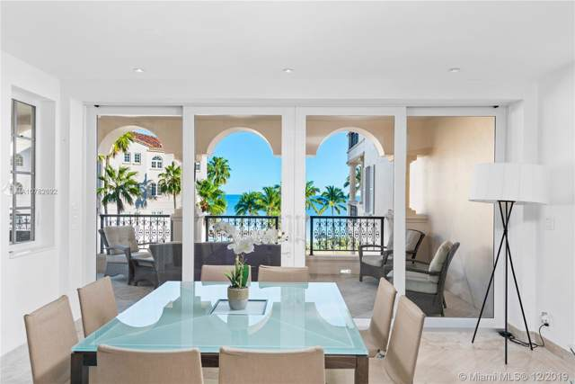 19241 Fisher Island Dr #19241, Miami Beach, FL 33109 (MLS #A10782692) :: The Howland Group