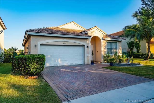 2357 SW 135th Ave, Miramar, FL 33027 (MLS #A10783958) :: The Teri Arbogast Team at Keller Williams Partners SW