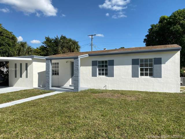 16401 NW 17th Pl, Miami Gardens, FL 33054 (MLS #A10784036) :: The Howland Group