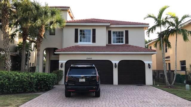 12460 SW 1st St, Plantation, FL 33325 (MLS #A10784283) :: The Jack Coden Group