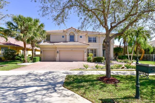 5034 Countrybrook Dr, Cooper City, FL 33330 (MLS #A10784587) :: The Teri Arbogast Team at Keller Williams Partners SW