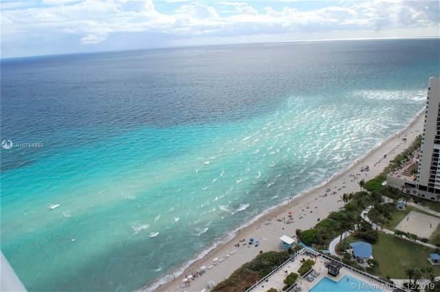1830 S Ocean Dr #3205, Hallandale Beach, FL 33009 (MLS #A10784988) :: The Teri Arbogast Team at Keller Williams Partners SW