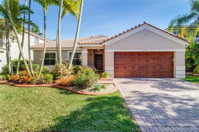 1254 Allamanda Way, Weston, FL 33327 (MLS #A10785043) :: The Riley Smith Group