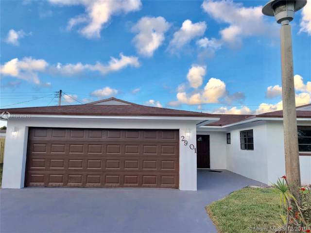 2901 NW 185th St, Miami Gardens, FL 33056 (MLS #A10785210) :: Berkshire Hathaway HomeServices EWM Realty