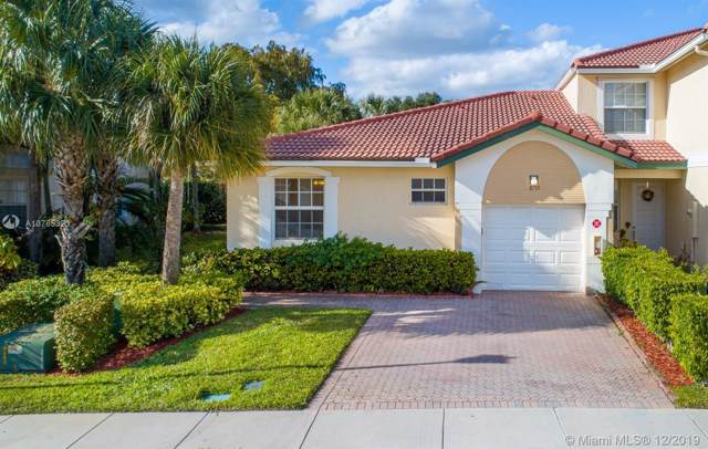 11715 NW 47th Dr #11715, Coral Springs, FL 33076 (MLS #A10785323) :: The Teri Arbogast Team at Keller Williams Partners SW