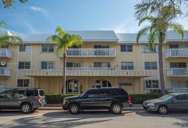 100 Edgewater Dr #231, Coral Gables, FL 33133 (MLS #A10785550) :: The Adrian Foley Group
