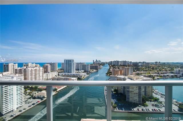2602 E Hallandale Beach Blvd R2803, Hallandale, FL 33009 (MLS #A10785724) :: Berkshire Hathaway HomeServices EWM Realty